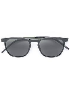 Saint Laurent Eyewear солнцезащитные очки в круглой оправе