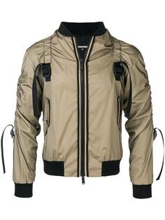 Dsquared2 куртка с ремешками
