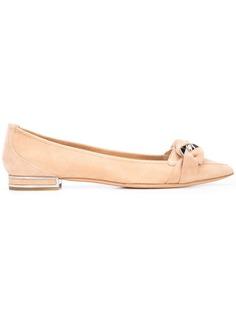 Casadei pointed toe ballerinas