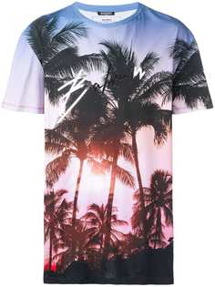 Balmain oversized sunset T-shirt