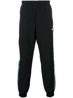 MSGM спортивные брюки с полосками