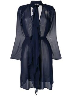 Max Mara sheer belted jacket