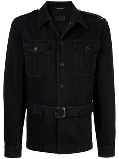 Saint Laurent Saharienne denim jacket