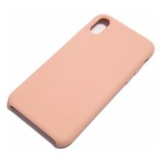 Чехол (клип-кейс) Rubber, для Apple iPhone X/XS, розовый [tfn-cc-07-009rupnk] Noname