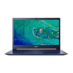 """Ультрабук ACER Swift 5 SF514-53T-5352, 14"""", IPS, Intel Core i5 8265U 1.6ГГц, 8Гб, 256Гб SSD, Intel UHD Graphics 620, Windows 10 Professional, NX.H7HER.006, синий"""