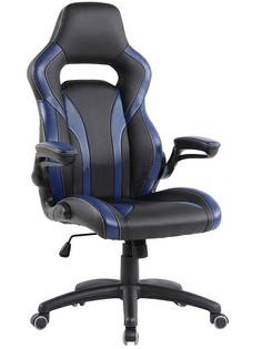 Компьютерное кресло TetChair Rocket искусственная кожа Black-Dark Blue