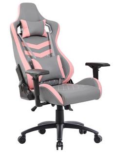 Компьютерное кресло TetChair iPinky искусственная кожа Grey-Pink