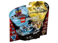 Конструктор Lego Ninjago Ния и Ву мастера Кружитцу 227 дет. 70663