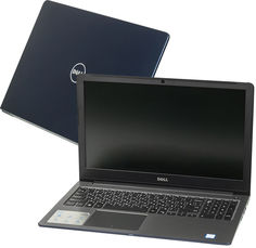 Ноутбук Dell Vostro 5568 Dark Blue 5568-9836 (Intel Core i5-7200U 2.5 GHz/8192Mb/256Gb SSD/Intel HD Graphics/Wi-Fi/Bluetooth/Cam/15.6/1920x1080/Linux)