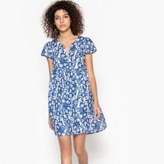 Платье расклешенное с рисунком Suncoo