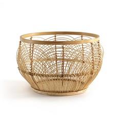 Корзина из ажурного бамбука Chari La Redoute Interieurs