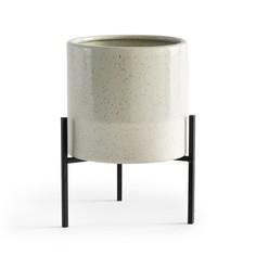 Кашпо керамическое на подставке Faso La Redoute Interieurs