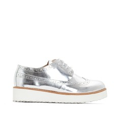 Ботинки-дерби из кожи La Redoute Collections