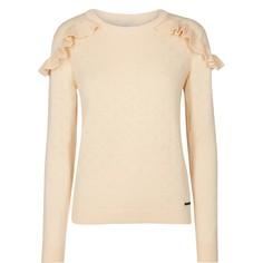 Пуловер с круглым вырезом, из тонкого трикотажа Numph