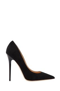 Черные замшевые туфли Anouk Jimmy Choo