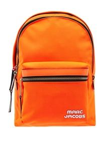 Оранжевый рюкзак с логотипом Marc Jacobs