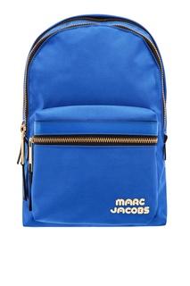 Синий текстильный рюкзак Marc Jacobs