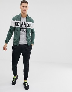 Спортивный костюм цвета хаки Reebok EJ8624 - Зеленый