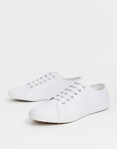 Белые кожаные кроссовки Fred Perry Kingston - Белый