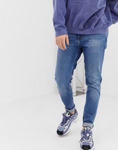 Синие джинсы Weekday Cone Marfa - Синий