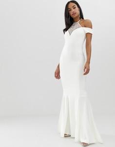 Платье макси City Goddess Вridal - Белый