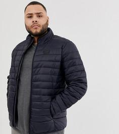 Темно-синяя стеганая куртка Blend Plus - Темно-синий
