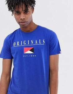 Футболка с логотипом Jack & Jones Originals - Синий