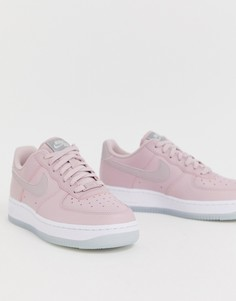Розовые кроссовки Nike Air Force 107 - Розовый