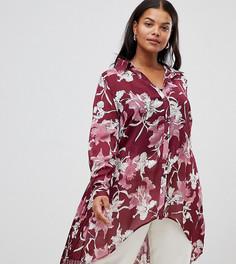 Блузка со складкой на спине Lovedrobe - Мульти
