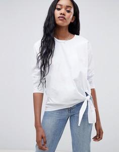 Блузка с завязкой Glamorous - Белый