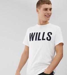 Белая футболка с принтом Jack Wills Wentworth Wills эксклюзивно для ASOS - Белый