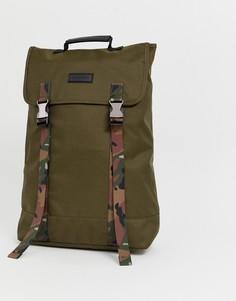 Рюкзак цвета хаки Consigned - Зеленый