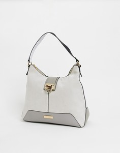 Серая сумка на плечо River Island - Серый