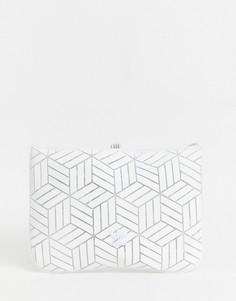 Чехол для ноутбука с геометрическим 3D узором adidas Originals - Белый