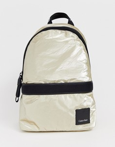 Рюкзак металлик Сalvin Klein - Золотой