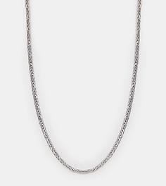 Серебристое ожерелье-цепочка Reclaimed Vintage эксклюзивно для ASOS - Серебряный