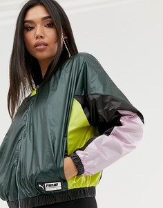 Куртка в стиле колор блок Puma - Мульти