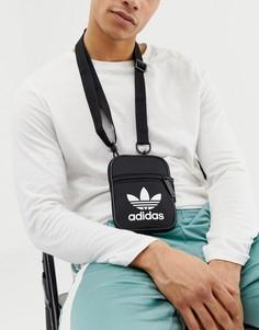 Черная сумка для перелетов adidas Originals - Черный
