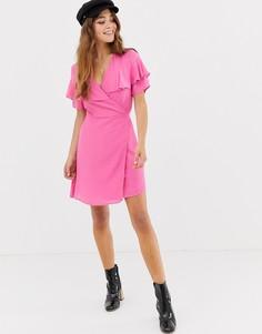 Платье с запахом Glamorous - Розовый