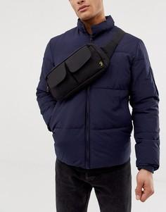Черная сумка через плечо Farah - Черный