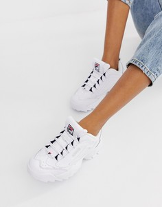 Белые кроссовки Fila Disruptor 3 - Белый
