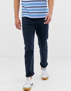 Темно-синие прямые брюки с 5 карманами Esprit - Темно-синий
