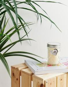 Свеча в стакане с хлопковым ароматом Candlelight - Кремовый