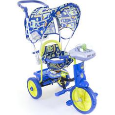 Трехколесный велосипед Jaguar MS-0747K синий