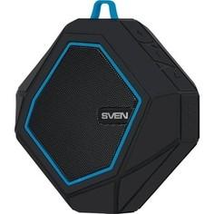 Портативная колонка Sven PS-77 black/blue