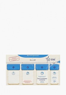 Маска для лица Selfielab «Гиалуроновая кислота» для всех типов кожи 35+ саше