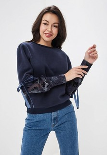 Свитшот LOST INK SWEAT WITH BLOUSON SLEEVE