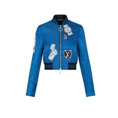 Куртка с вышивкой Stickers Louis Vuitton