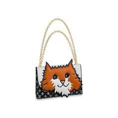 Клатч Orange Cat Louis Vuitton