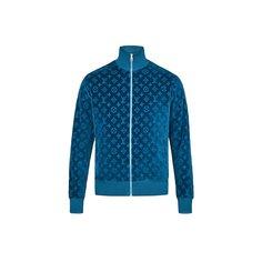 Куртка Из Хлопчатобумажного Велюра С Узором Monogram Louis Vuitton